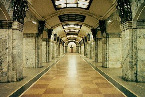 Resultado de imagen de metro San petersburgo